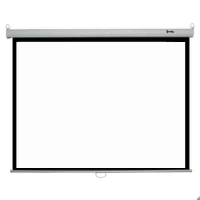 96 x 96 Manual Wall/Ceiling Mountable Projector Screen