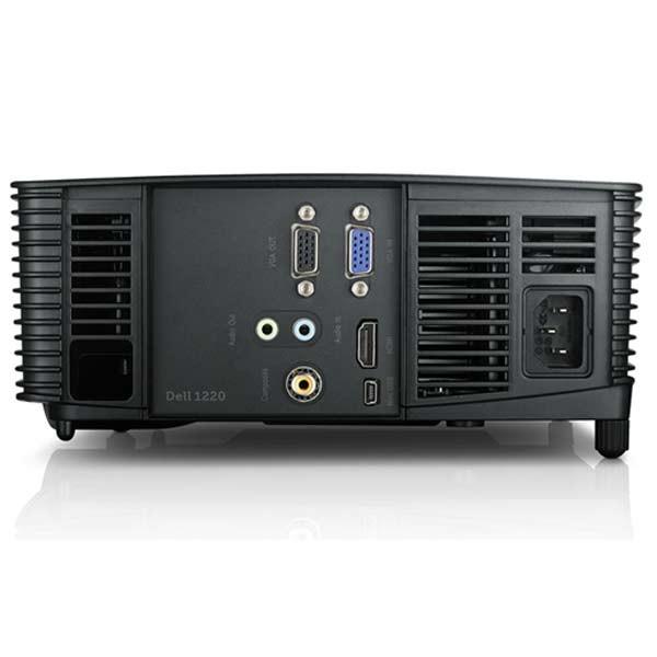 Dell 1220 dlp projector hdmi 2700 lumens dell projectors for Hdmi projector