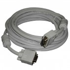 VGA Cable: 15-Meter, High Resolution HD15 VGA Cable