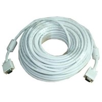 20-Meter, VGA Cable - High Resolution HD15 VGA Cable