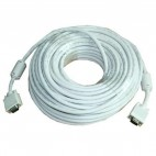 25-Meter VGA Cable - High Quality High Resolution HD15 VGA Cable
