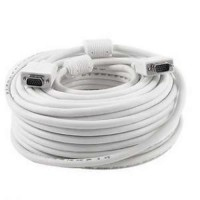 50-Meter VGA Cable - High Standard, High Resolution HD15 VGA Cable