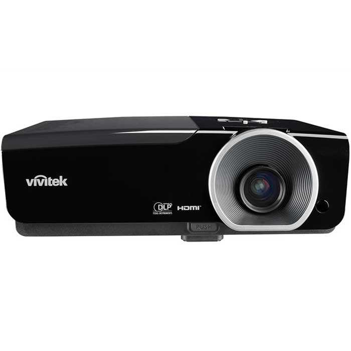 Vivitek d963hd full hd multimedia projector 4500 lumens for Smallest full hd projector