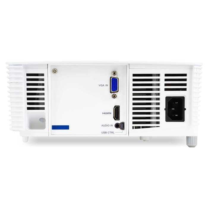 Acer X127h 3d Dlp Projector 3600 Ansi Lumens Xga 1024 X