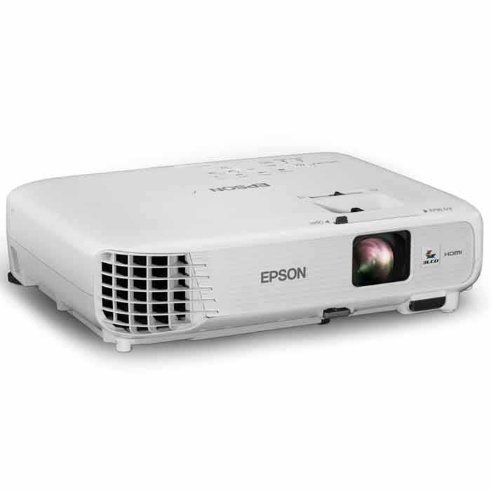 Hd Projector Full Color 720p 2400 Lumens Digital Tv Single: Epson PowerLite 740HD Home Cinema 720p 3LCD HD Projector