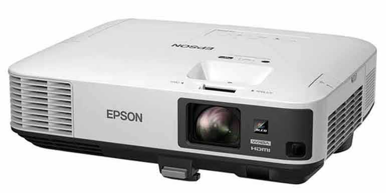 Epson Powerlite 2165W 3LCD Wireless 5500 Lumens Projector - Unboxed!