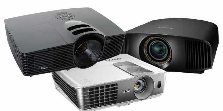 Buying Guide for Home Theatre Projectors