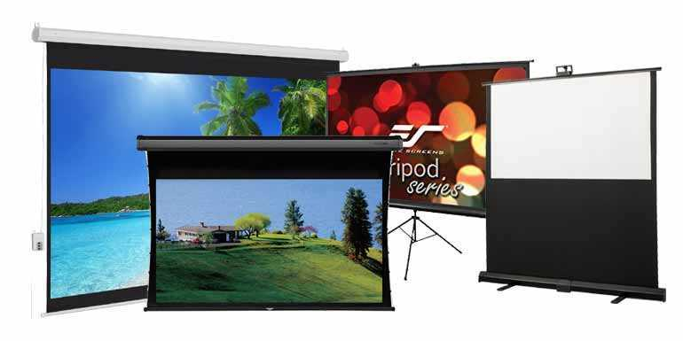 Projector Screens - What You Need to Know about Types, Sizes and Setup of Projector Screens